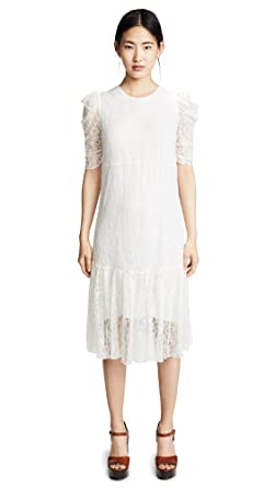Amazon Com See By Chloe Women S Lace Dress Clothing