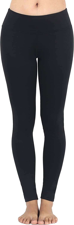 Sugar Pocket Womens Workout Leggings Ankle Length Yoga Pants