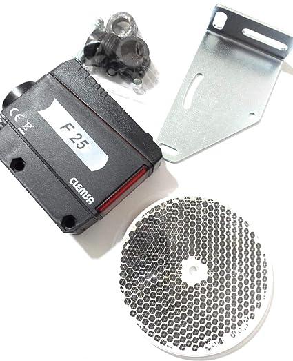 jfe SP reflectante fuera infrarrojo fotocélula por Motorline profesional/célula fotoeléctrica UNIVERSAL para cualquier tipo
