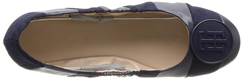 Tommy Hilfiger Women's EMI Ballet US|Navy Flat B06XVHRD8M 12 B(M) US|Navy Ballet e82ae3
