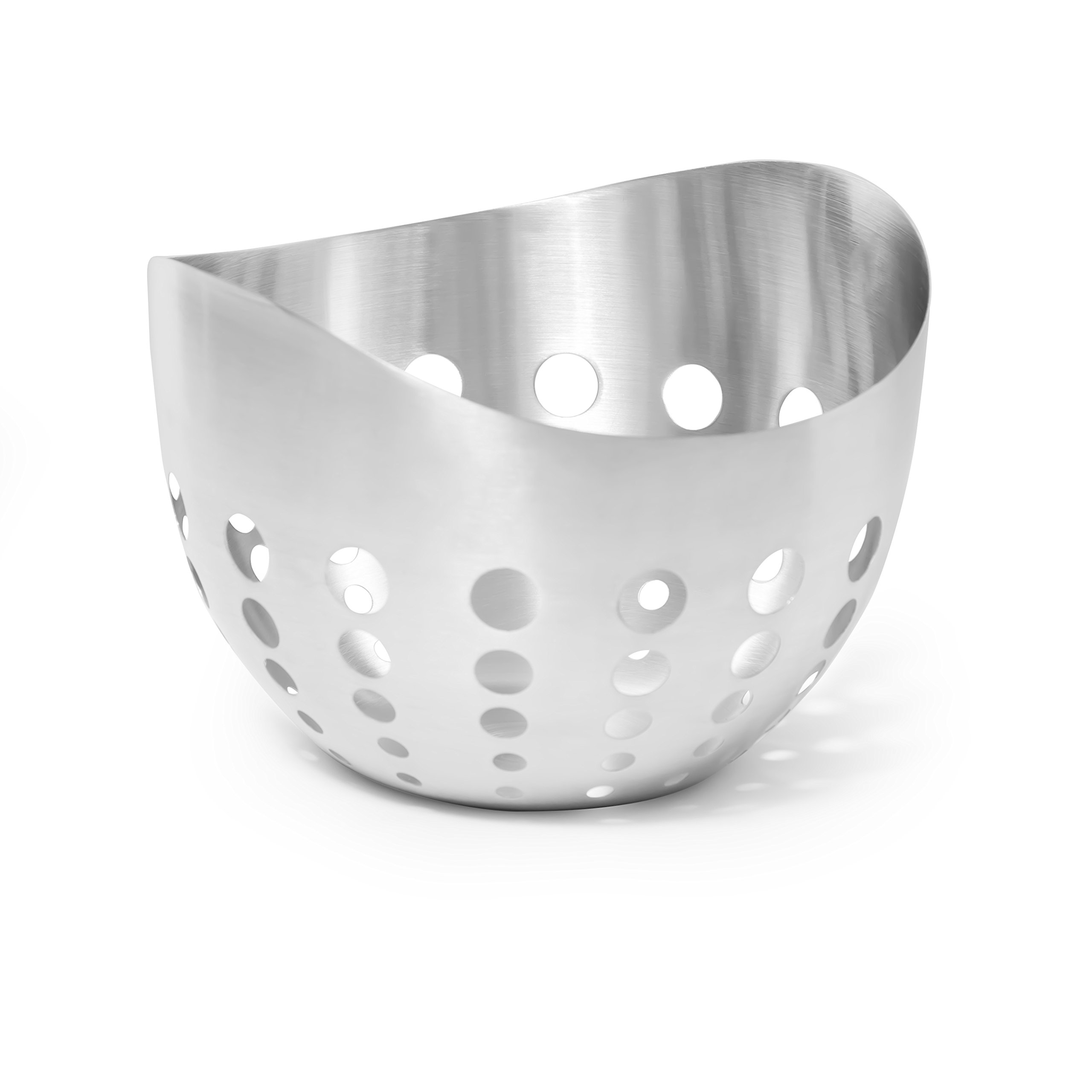 McSunley 752 Polished Prep N Cook Fruit and Bread Basket, Stainless Steel