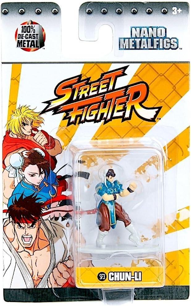 Amazon Com Street Fighter Chun Li Sf3 1 5 Inch Diecast Nano