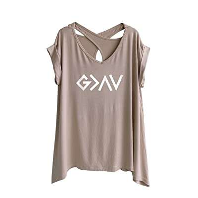 TeeMixed Women T-Shirt God is Greater Than The high and Low