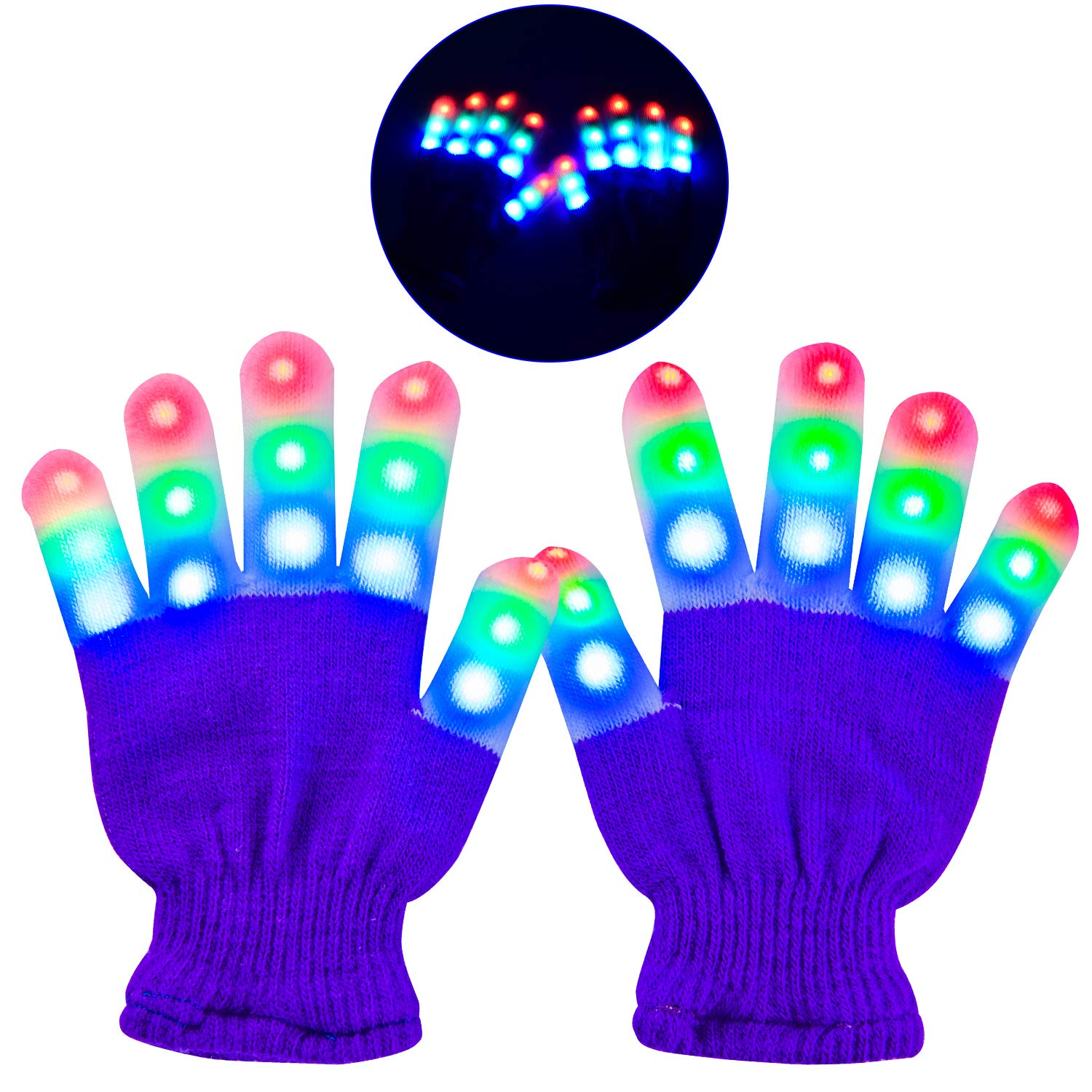 Fantastic LED gloves