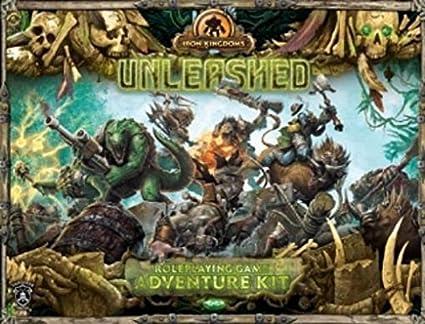 Privateer Press Eisen Königreich RPG: Unleashed Adventure Kit
