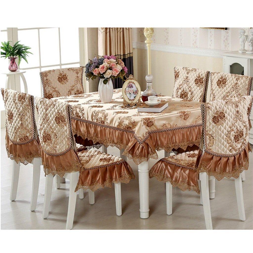 Lying Tischdecke europäischen Stil High-End-Baumwolle und und und Leinen Tischdecke Kaffee Tischdecke Runde Tischdecke Rechteck - Tischtuchdekoration ( Farbe   C , größe   D180cm ) d5a7f9
