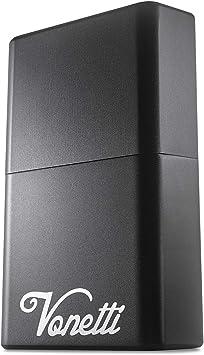 VONETTI Alpha Shield 3.4 Inch Premium Keyless Go Protection - Aluminium Box for Car Key Holder RFID Blocking Case, Car Key Safe Box, Car Keyless Entry Fob Guard Signal Blocker Faraday Tin