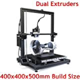 Xinkebot Large 3D Printer Dual Extruder High Precision 0.05mm Resolution Orca2 Cygnus All Metal Frame Auto Leveling 400x400x500mm Build Size (Dual Extruder + Single Extruder)