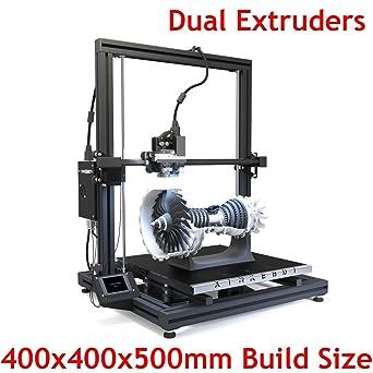 Xinkebot Impresora 3D grande, extrusora dual Orca2 Cygnus con ...