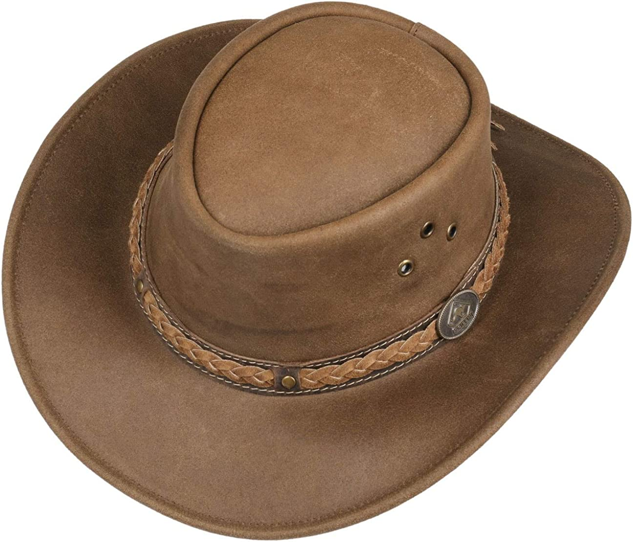 Scippis Cappello in Pelle Townsville da Cowboy Outback