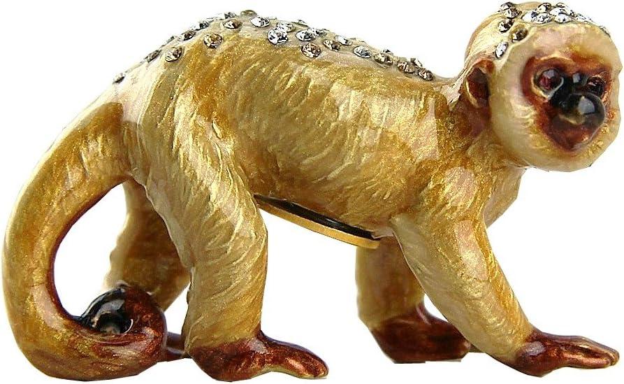 Jay Strongwater Mini Monkey Figurine