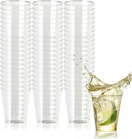 Amazon.com: 500 vasos de chupito desechables de plástico ...