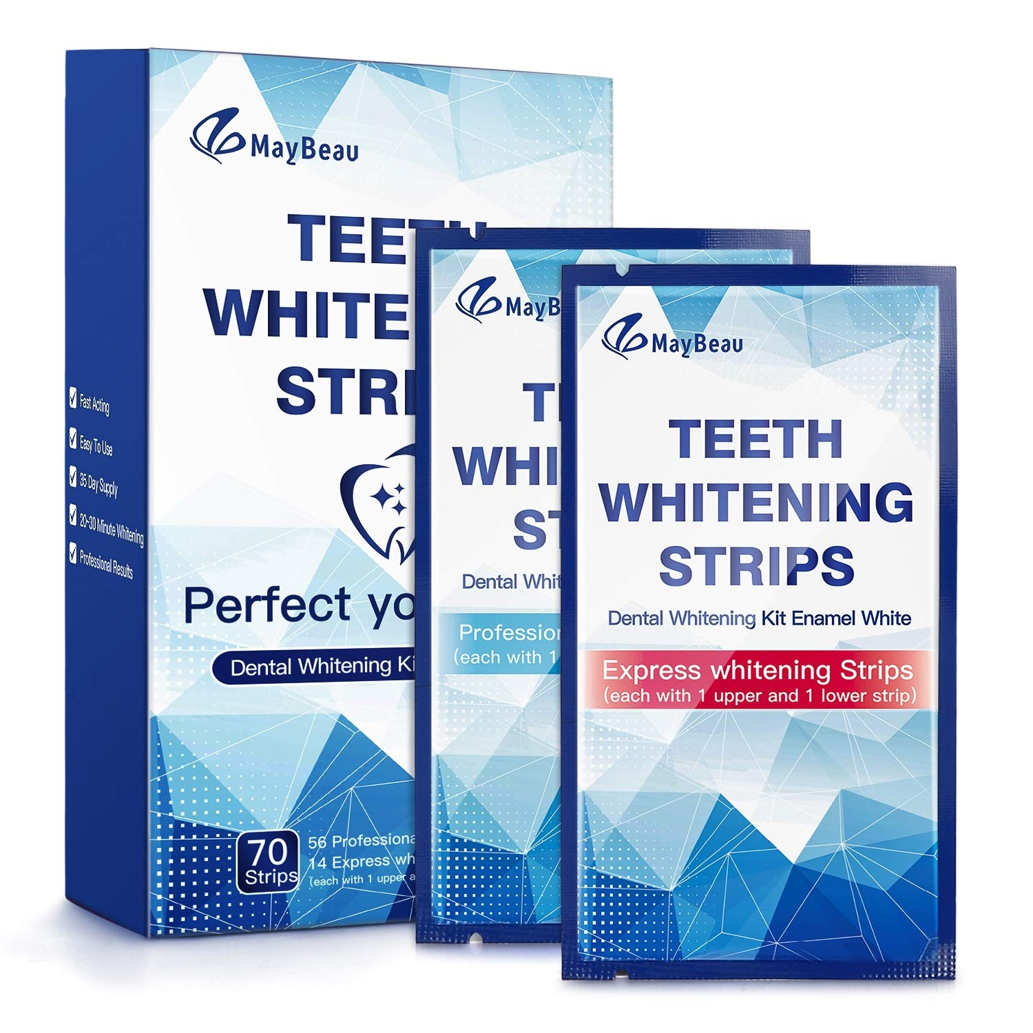 68% Off Coupon – 70 Pieces Teeth Whitening Strips Kit Pack