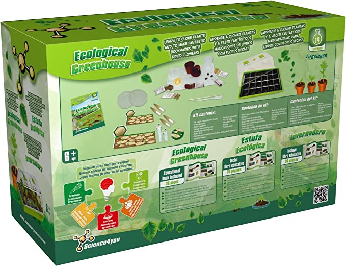 Amazon.com: Science4you Ecological Greenhouse Kit Science Experiment: Toys & Games