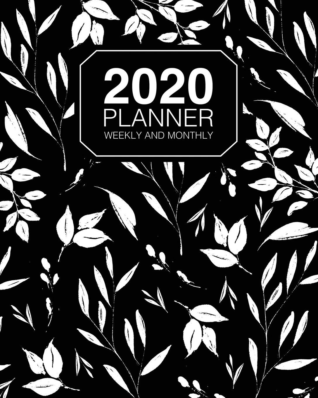 2020 Planner Weekly And Monthly: 2020 Agenda Organizer And ...