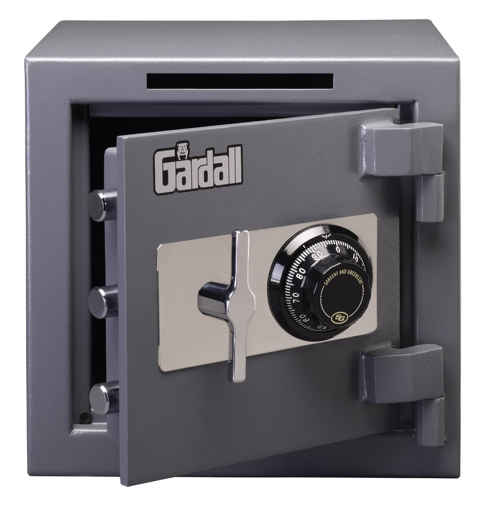 Gardall LCS1414-G-C Slotted Commercial Light Duty Safe w/ Mechanical Combination Lock Grey by Gardall (Image #1)