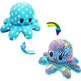 Double -The Sided Flip of Soft Reversible Cute Octopus Plus of Stuffed Animals DOI - Best Gift