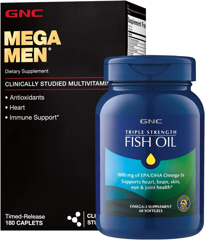 GNC Mega Men® & Omega-3 Bundle