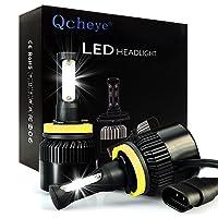 Deals on Qcheye H11 LED Headlight Bulbs Conversion Kit