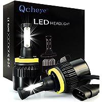 Qcheye H11 LED Headlight Bulbs Conversion Kit