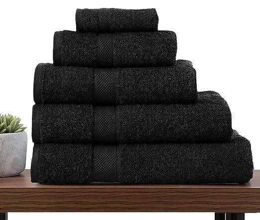 Toallas de lujo 100 % de algodón egipcio 600 g/m². Toalla para la ...