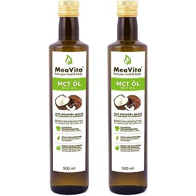 Meavita Aceite Meavita Mct, Paquete De 2 (2X 500 Ml) 1000 ml