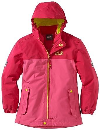 Jacken in Rot von Jack Wolfskin für Mädchen.