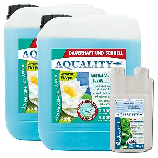 Aquality les algues filamenteuses EX Pond liquide pour votre étang ...