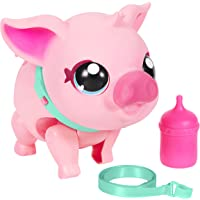 Little Live Pets - My Pet Pig: Piggly   Soft and Jiggly Interactive Toy Pig That Walks, Dances and Nuzzles. 20+ Sounds…