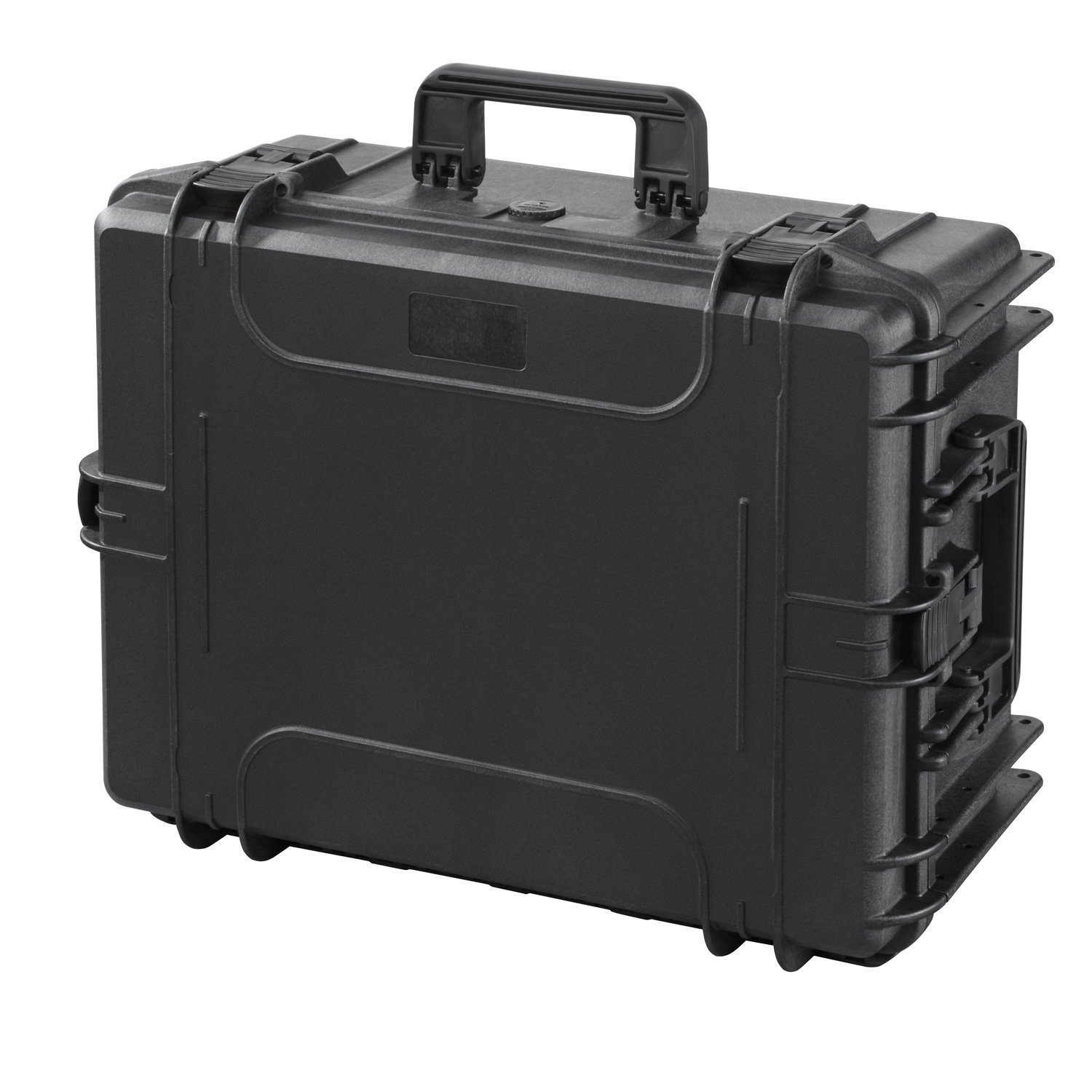 MAX Cases IP67 Cert Waterproof & Dustproof Case with Extendable Trolley Handle & Wheels, Black, MAX540H245STR
