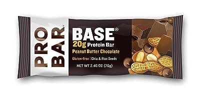 PROBAR BASE Protein Bar, Peanut Butter Chocolate