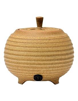 Quemador de incienso - Estufa de aromaterapia de cerámica sin humo de calefacción eléctrica - Temporización de temperatura ...
