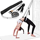 Yoga Fitness Stretching Strap - Back Bend Assist Trainer, Improve Leg Waist Back Flexibility for Rehab Pilates Ballet Dance Cheerleading Splits Gymnastics