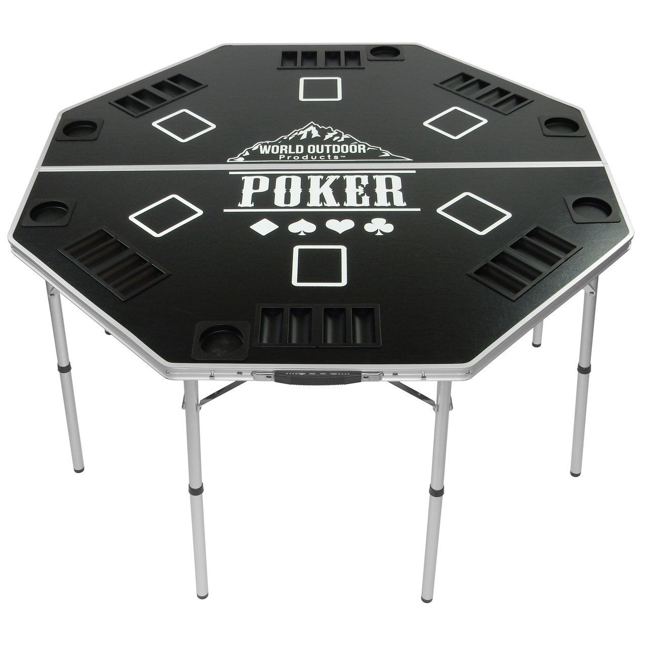 Oasis Outdoor Products Professional High Roller Tour Lightweight Portable Folding Poker Table by Oasis (Image #1)