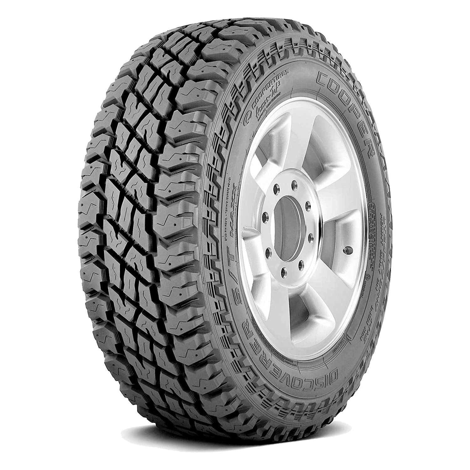 Cooper Discoverer S//T Maxx All-Terrain Radial Tire-LT295//70R17 121//118Q LRE 10-Ply