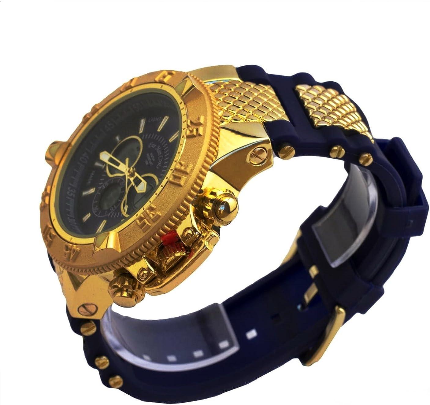 Reloj Eve Mon Crois Vestir Dorado/Negro