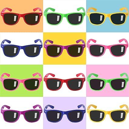 Amazon.com: Pack de 12 gafas de sol para adolescentes y ...