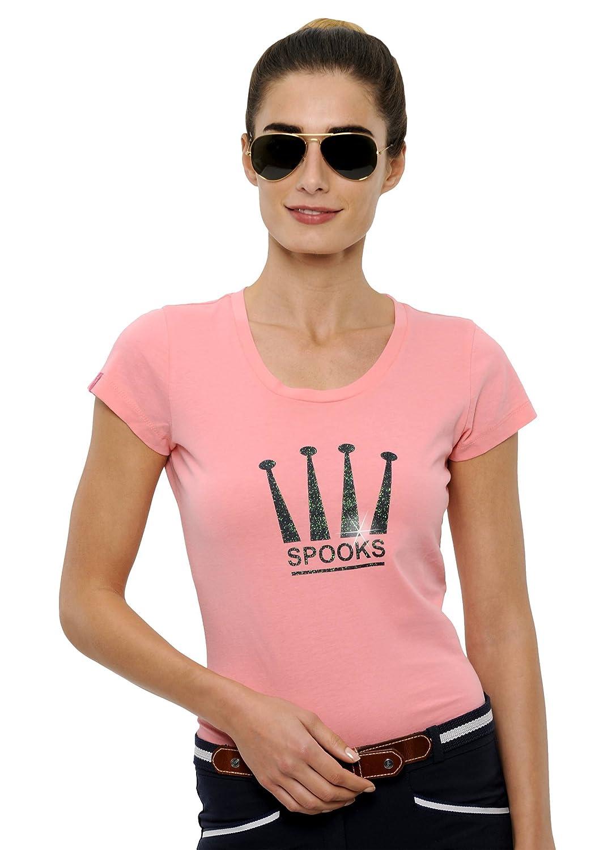 SPOOKS T Shirt für für für Damen Mädchen Kinder, Tailliert Sommer Tshirt mit Aufdruck aus Frotee - Bequem & Stylisch Crown - XS-XL B06XKR85SY T-Shirts Hohe Sicherheit 7919e6