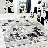 Designerteppich Wohnzimmer Teppich Retro Stil Shabby Chic Grau Creme Preishammer Grsse120x170 Cm
