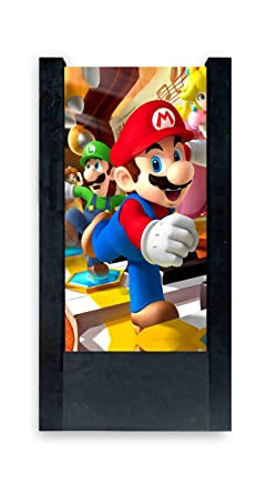 Lampe De Table Noir Super Mario Bros Et Luigi Amazon Fr Luminaires