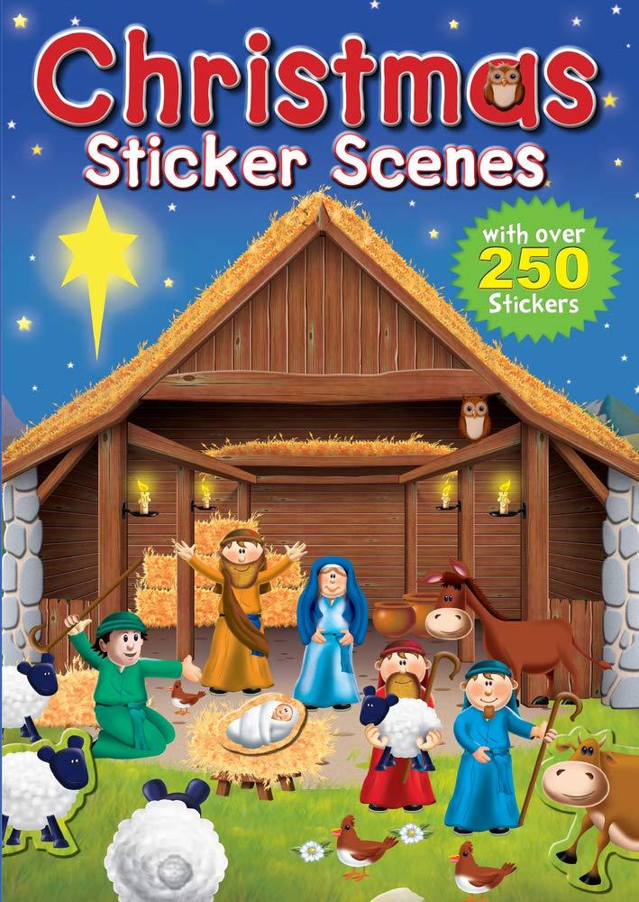 Download Christmas Sticker Scenes pdf epub