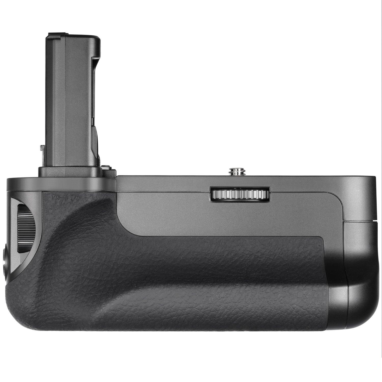 Neewer Vertical Empu/ñadura de Bater/ía Reemplazo para VG-C1EM para C/ámaras Sony Alpha A7 A7R A7S DSLR Compatibles con Bater/ía NP-FW50 Bater/ía No Incluida
