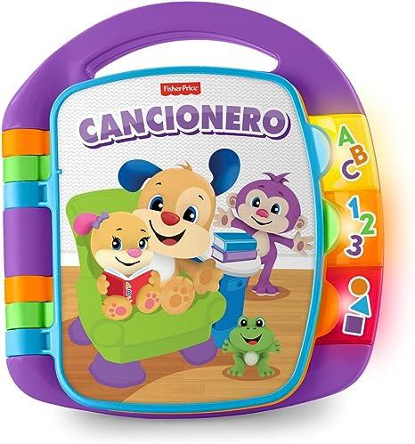 Fisher-Price - Ríe y Aprende - Libro interactivo de aprendizaje - juguetes educativos - (Mattel FRC69): Amazon.es: Juguetes y juegos