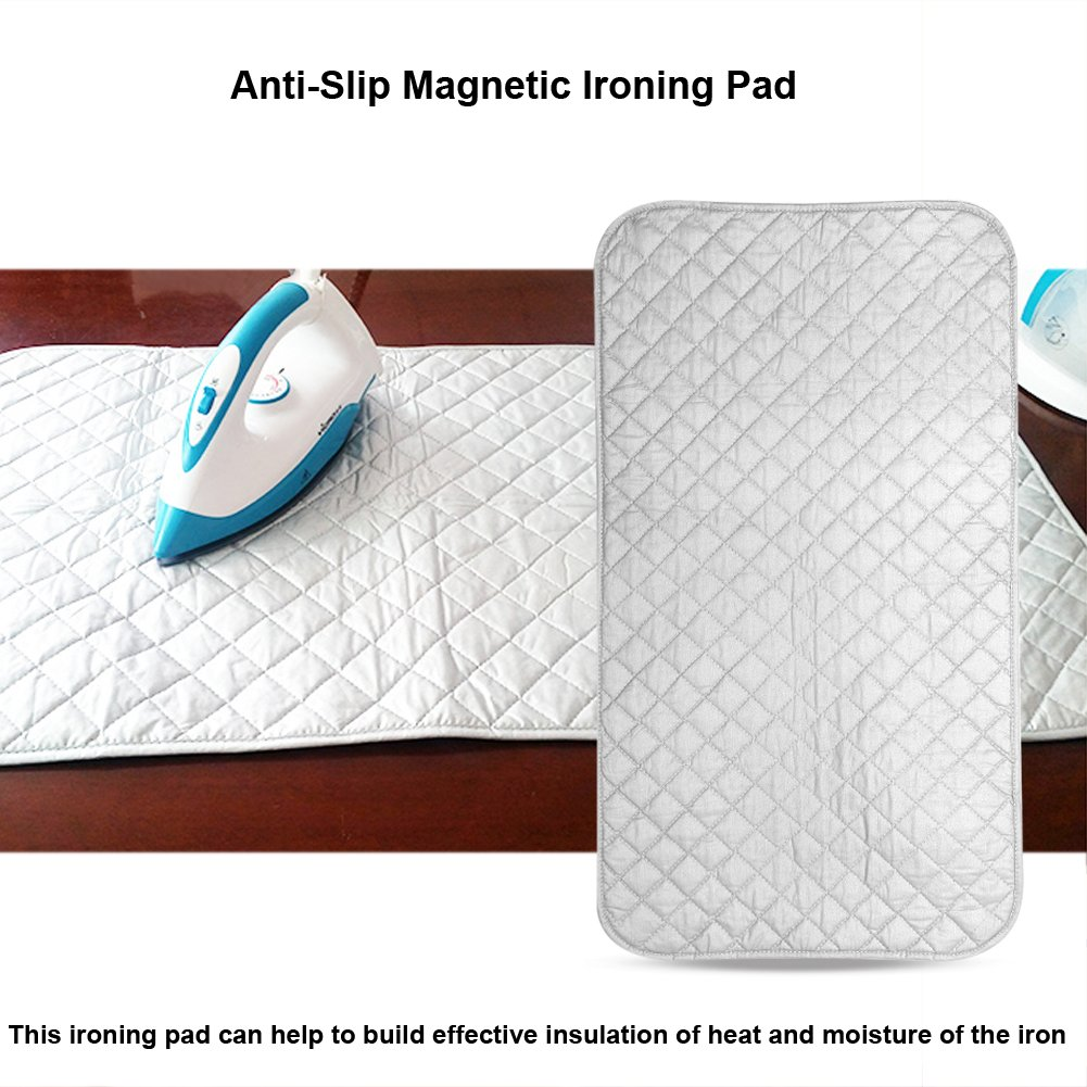 Nappe de Repassage Pliable Antid/érapant Magn/étique Repassage Tapis de Couverture Machine /à Laver pour Housse de Repassage de Dessus de Table