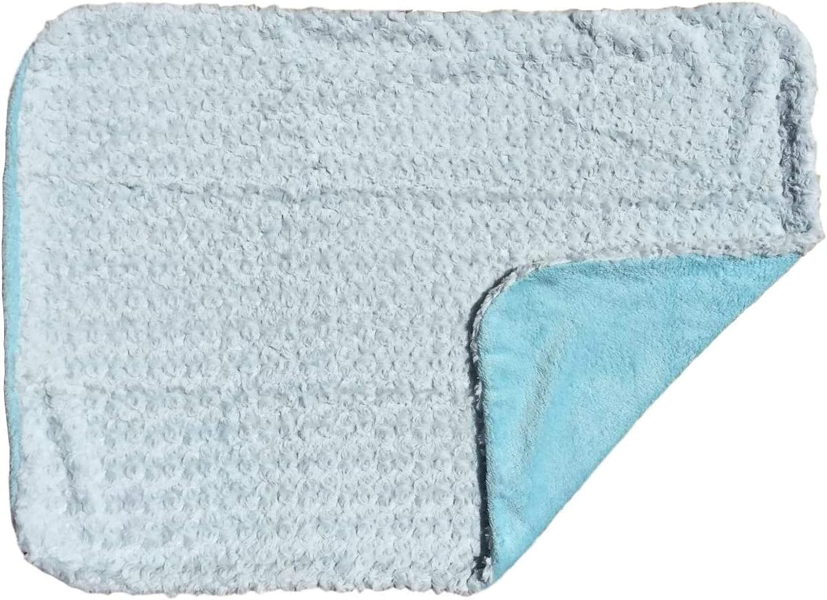 Sherpa Backing Warm and Cozy Extra Soft Micro Plush Fleece Blanket Turquoise Swirl Anti-Pilling Boy Baby Blanket Multiple Designs and Themes