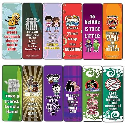 Creanoso Marcadores de libros para niños (12 unidades ...