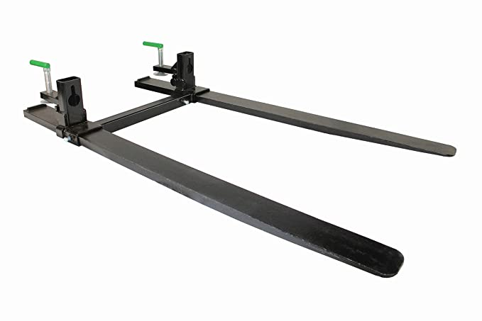Forged Clamp on Pallet Forks for Skid steer Tractor Loader Bucket  (COF-HD-SB)