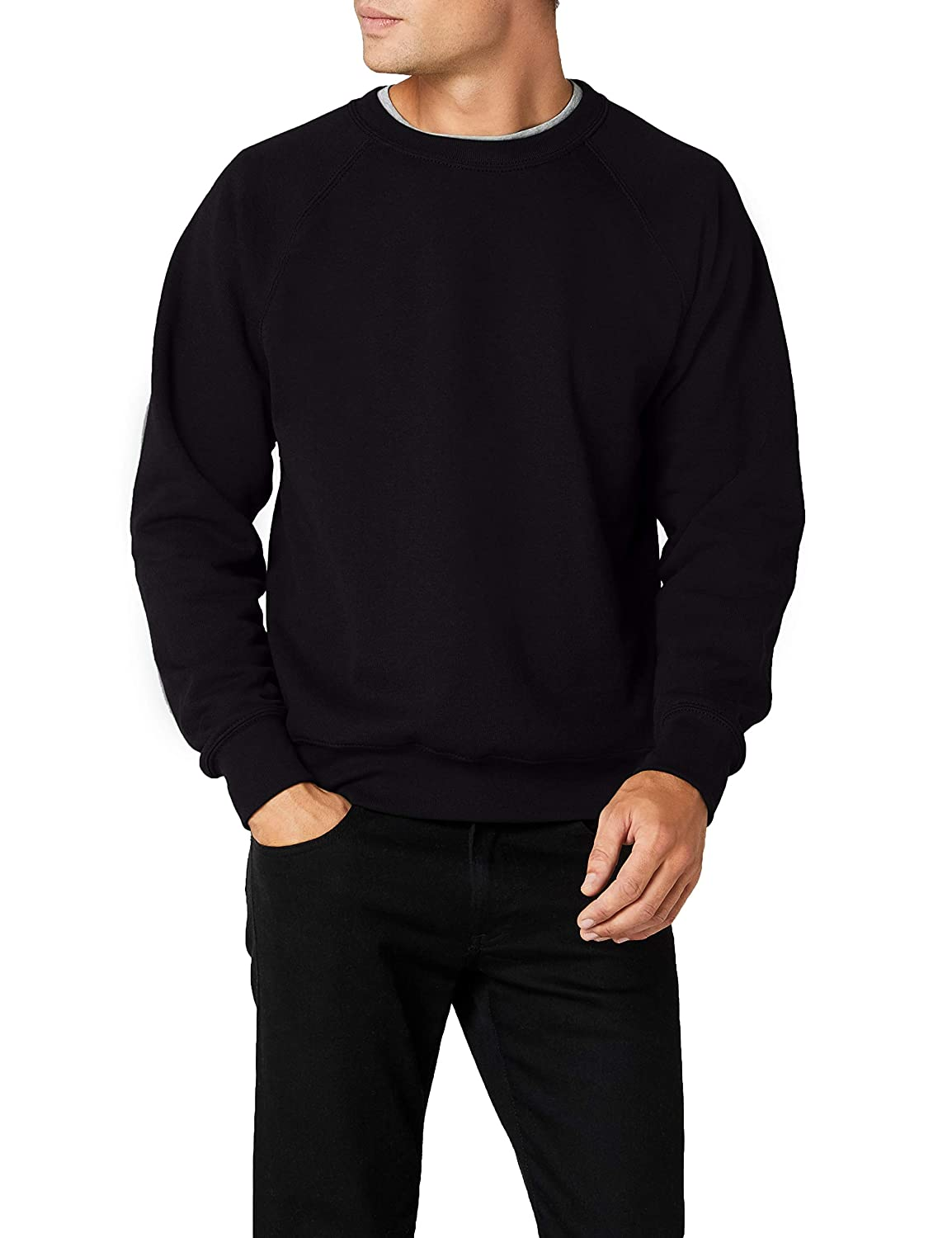 Fruit Of The Loom 62-216-0, Sudadera Para Hombre, Negro (Black), XX-Large