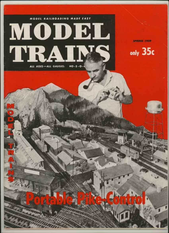 Model Trains Magazine Spring 1959 (Vol. 12, No. 3) (Portable Pike Control feature)
