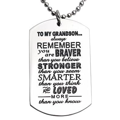 Amazon Grandson Gifts From Grandma Grandma Nana Grandparents